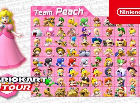Mario Kart Tour: pubblicati i trailer dedicati al Tour Mario vs. Peach