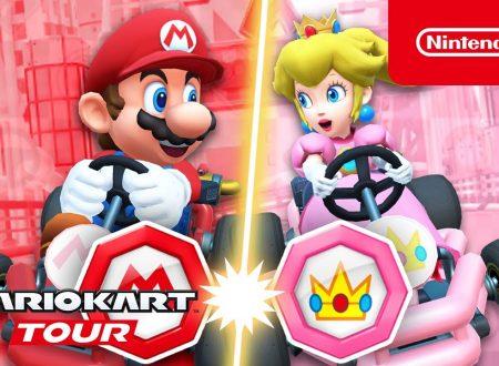 Mario Kart Tour: pubblicato il trailer dedicato al Tour Mario vs. Peach , ora disponibile