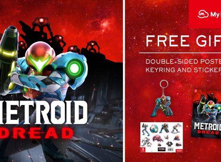 Metroid Dread: il titolo ora in pre-order con portachiavi, poster e adesivi sul Nintendo UK Store