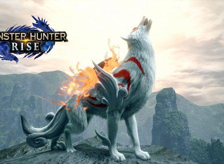Monster Hunter Rise: pubblicato il trailer dedicato alla collaborazione con Okami