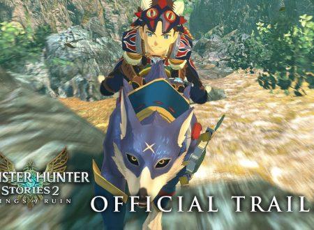 Monster Hunter Stories 2: Wings of Ruin, pubblicato il trailer di lancio su Nintendo Switch