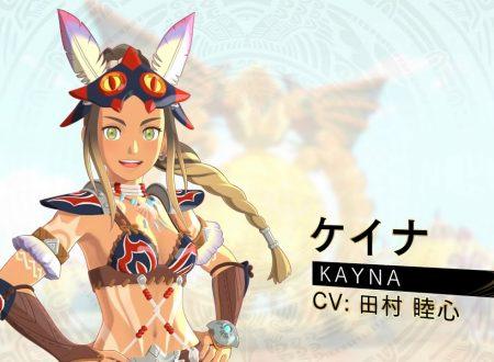 Monster Hunter Stories 2: Wings of Ruin, pubblicato un trailer giapponese dedicato a Kayna