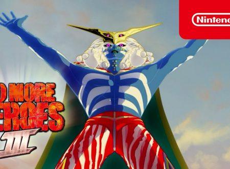 No More Heroes 3: pubblicato il nuovo traier, Supereroi alieni?