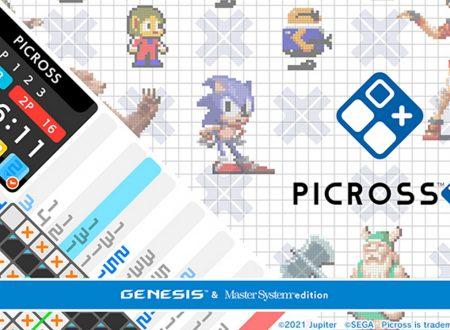 Picross S: Mega Drive & Mark III Edition: il titolo in arrivo il 5 agosto su Nintendo Switch