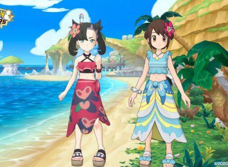 Pokèmon Masters EX: ora disponibile l'evento estivo con Gloria e Mary in costume