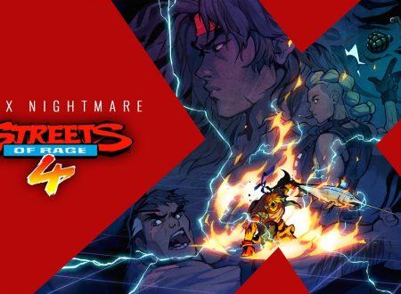 Streets of Rage 4: pubblicato il trailer di lancio del DLC di Mr. X Nightmare su Nintendo Switch