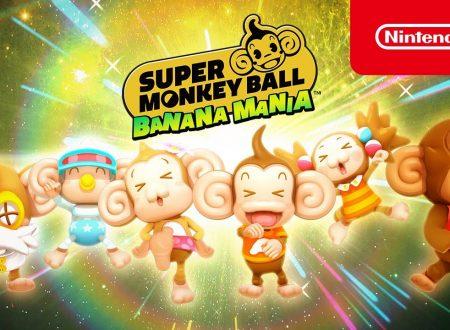 Super Monkey Ball Banana Mania: pubblicato il trailer, Wondrous Worlds