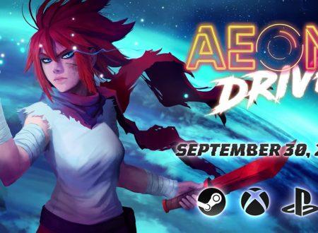 Aeon Drive: il titolo in arrivo il 30 settembre sull'eShop di Nintendo Switch