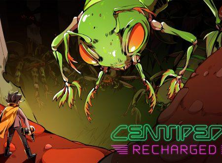 Centipede: Recharged, il titolo di Atari in arrivo il 29 settembre su Nintendo Switch