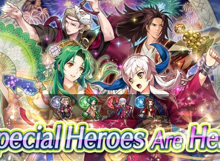 Fire Emblem Heroes: ora disponibili gli eroi speciali: Hoshido in festa, atto secondo