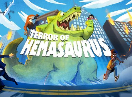 Hemasaurus: il titolo in arrivo nei primi mesi del 2022 sull'eShop di Nintendo Switch