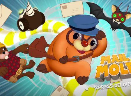 Mail Mole: il titolo ora aggiornato alla versione 1.2.0 sui Nintendo Switch europei