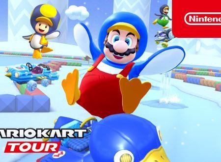 Mario Kart Tour: pubblicato il trailer dedicato al Tour Gelido, ora disponibile