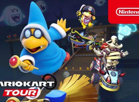 Mario Kart Tour: pubblicato il trailer dedicato al Tour Kamek, ora disponibile