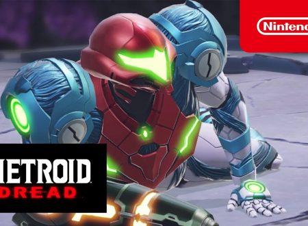Metroid Dread: pubblicato il nuovo trailer, Un'altra anteprima del terrore