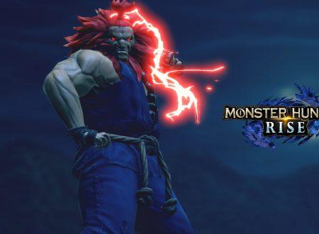 Monster Hunter Rise: pubblicato il trailer dedicato alla collaborazione con Street Fighter