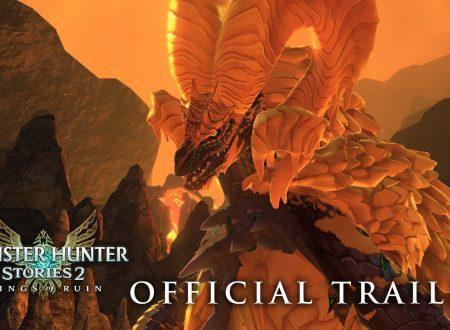 Monster Hunter Rise: pubblicato un nuovo trailer sul secondo update