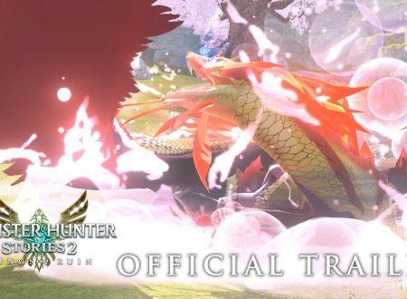 Monster Hunter Stories 2: Wings of Ruin, il titolo aggiornato alla versione 1.3.0 sui Nintendo Switch europei