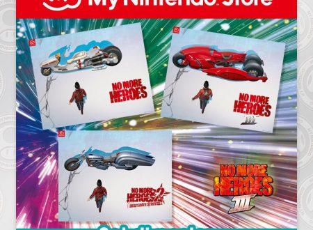 My Nintendo: ora disponibile il Set di poster di No More Heroes 3