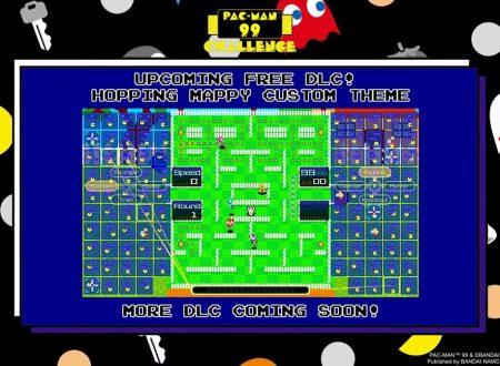 Pac-Man 99: annunciati nuovi DLC per il raggiungimento dei 4 milioni di download su Nintendo Switch