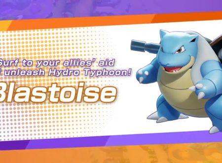 Pokèmon Unite: Blastoise è in arrivo il prossimo 1 settembre all'interno del MOBA