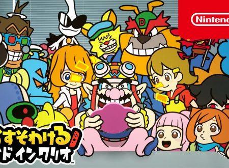 WarioWare: Get It Together!: pubblicati tre nuovi video promozionali giapponesi