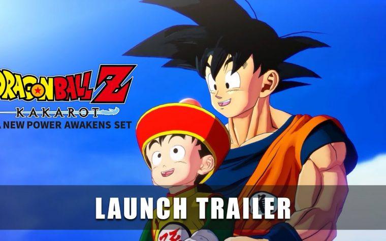 Dragon Ball Z: Kakarot + A New Power Awakens Set, pubblicato il trailer di lancio su Nintendo Switch