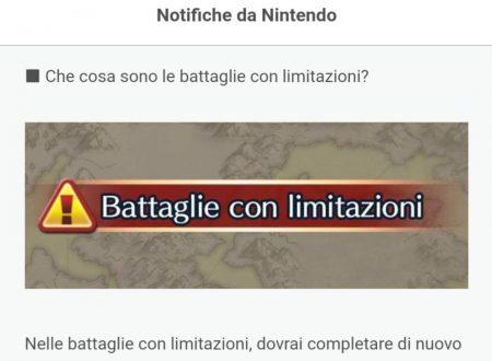 Fire Emblem Heroes: ora disponibili le Battaglie con limitazioni nelle mappe speciali