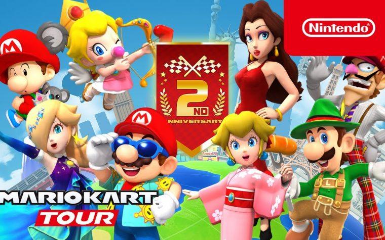Mario Kart Tour: pubblicato il trailer dedicato al Tour 2° anniversario, ora disponibile