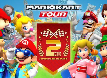 Mario Kart Tour: svelato l'arrivo imminente del Tour 2° anniversario nel titolo mobile
