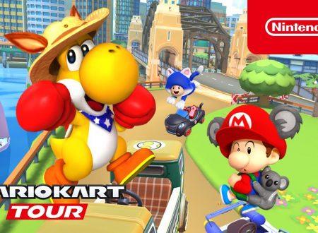 Mario Kart Tour: pubblicato il trailer dedicato al Tour di Sydney, ora disponibile
