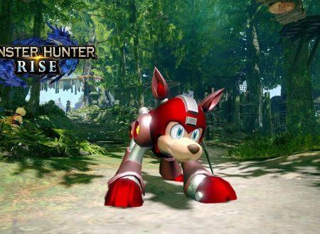 Monster Hunter Rise: pubblicato il trailer dedicato alla collaborazione con Mega Man