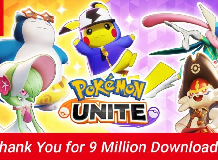 Pokèmon Unite: il titolo raggiunge i 9 milioni di download su Nintendo Switch