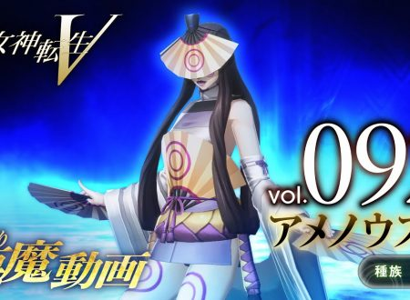 Shin Megami Tensei V: pubblicato un trailer giapponese dedicato al demone Ame no Uzume