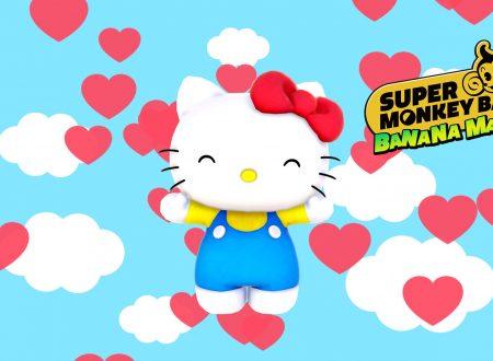 Super Monkey Ball Banana Mania: un trailer rivela la collaborazione con Hello Kitty