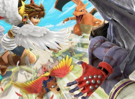 Super Smash Bros. Ultimate: svelato l'arrivo del torneo: Ali su ali