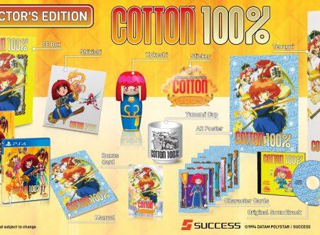 Cotton 100%: il titolo in arrivo il 29 ottobre sull'eShop di Nintendo Switch