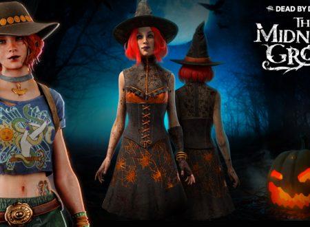 Dead By Daylight: uno sguardo in video all'evento di Halloween, The Midnight Grove con le skin Mikaela Reid