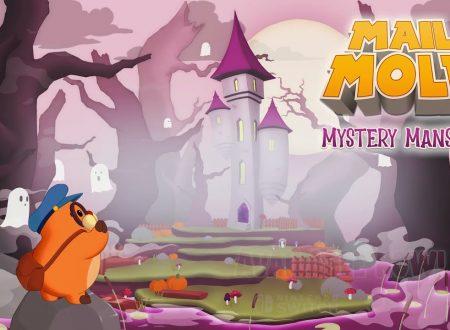 Mail Mole: ora disponibile il DLC Mystery Mansion sui Nintendo Switch europei