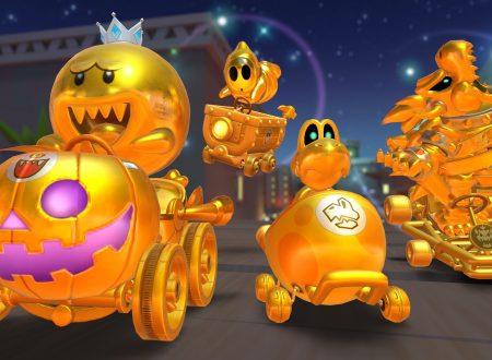 Mario Kart Tour: ora disponibili i piloti d'oro sicuri con 50 lanci nel tubo dorato