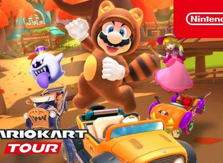 Mario Kart Tour: svelato l'arrivo imminente del Tour Autunnale nel titolo mobile