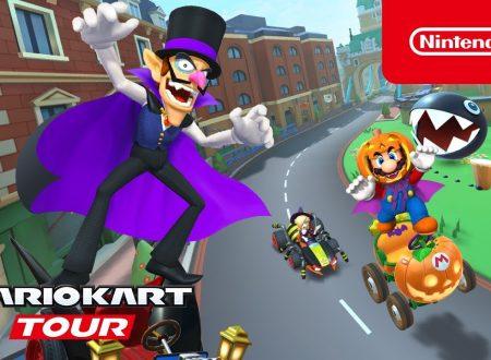 Mario Kart Tour: svelato l'arrivo imminente del Tour di Halloween nel titolo mobile