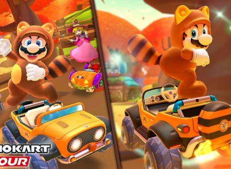 Mario Kart Tour: uno sguardo in video gameplay al nuovo Tour Autunnale, ora disponibile