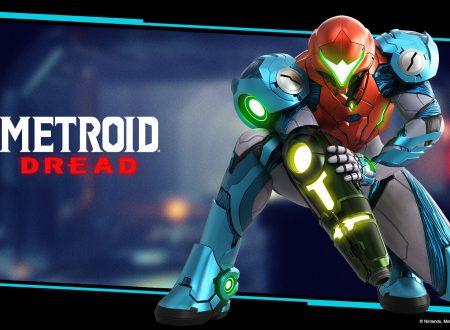 Metroid Dread: il titolo aggiornato alla versione 1.0.1 sui Nintendo Switch europei