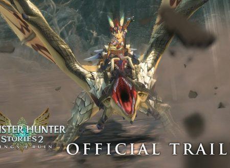 Monster Hunter Stories 2: Wings of Ruin, il titolo aggiornato alla versione 1.5.0 sui Nintendo Switch europei