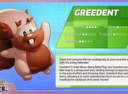 Pokémon UNITE: uno sguardo in video all'unità di Greedent e l'Halloween event