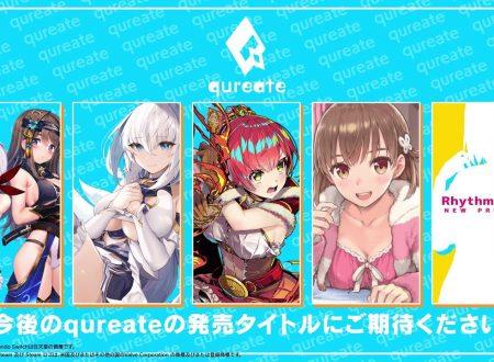 Qureate annuncia l'arrivo di cinque nuovi titoli ecchi, prossimamente sull'eShop di Nintendo Switch